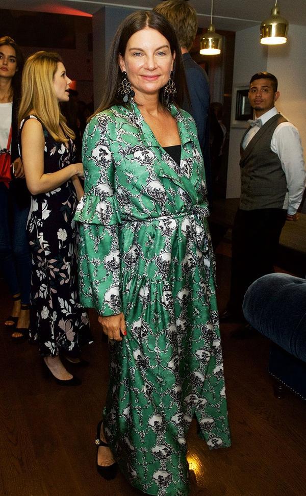 WHO: Natalie Massenet WHAT:A Green Carpet Challenge BAFTA Night