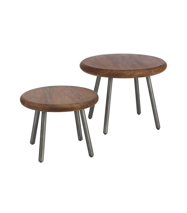 CB2 2-Piece Wafer Table Set