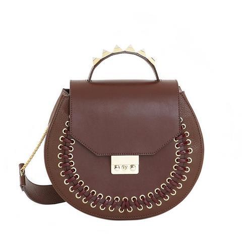 Eva Pocket Dark Brown Bag