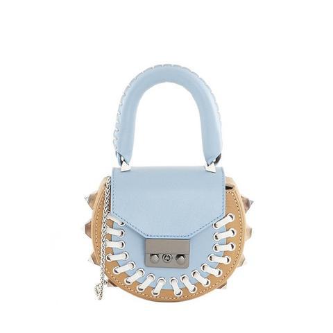 Mimi Mini Pocket Light Blue Bag