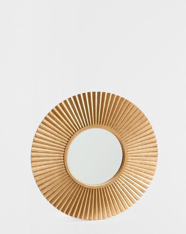 Zara Home Golden Sun Mirror