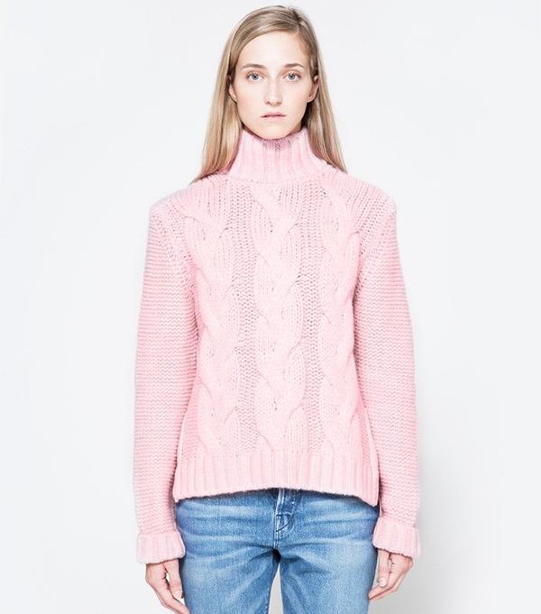 Ganni Brooks Rollneck Sweater
