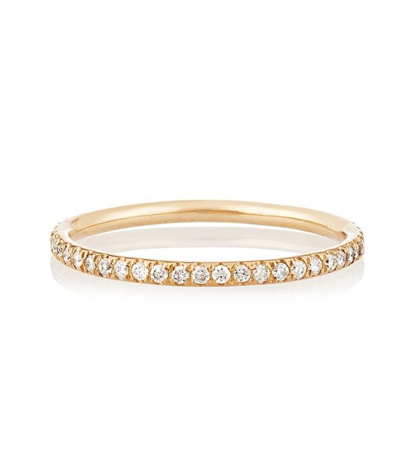 Ileana Marki Thread 18-Karat Eternity Ring