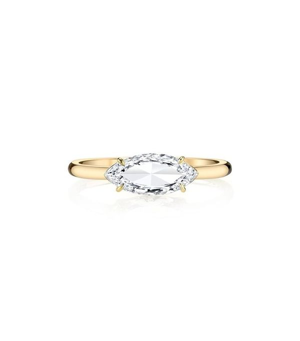 Anita Ko Marquis Cut Diamond Ring
