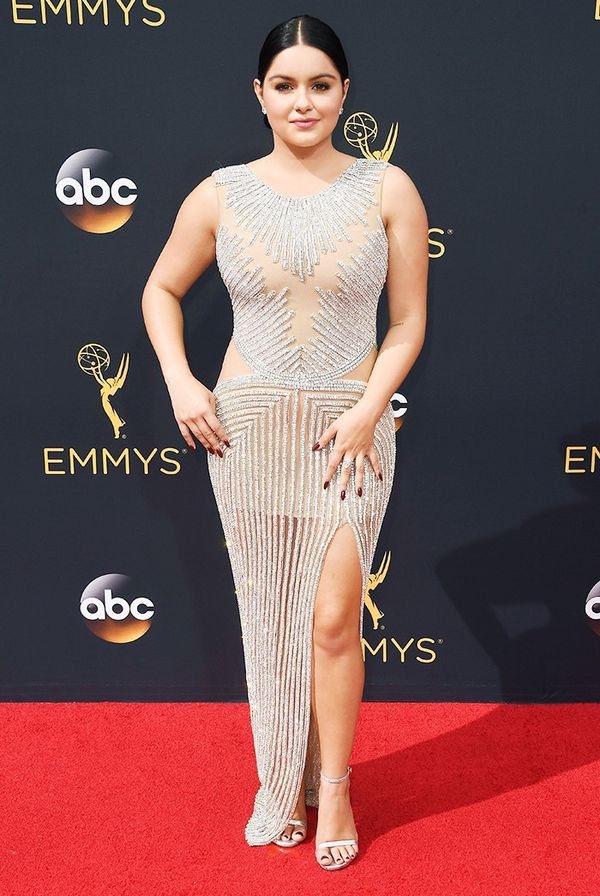 WHO: Ariel Winter WHAT: Actress, Modern Family WEAR:Yousef Al Jasmi dress.