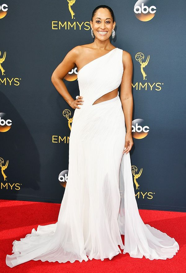 WHO: Tracee Ellis Ross WHAT: Nominee, Outstanding Leading Actress in a Comedy, Black-ish WEAR: Custom Ralph Lauren dress.