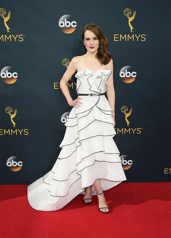 WHO: Michelle Dockery WHAT: Actress,Downton Abbey