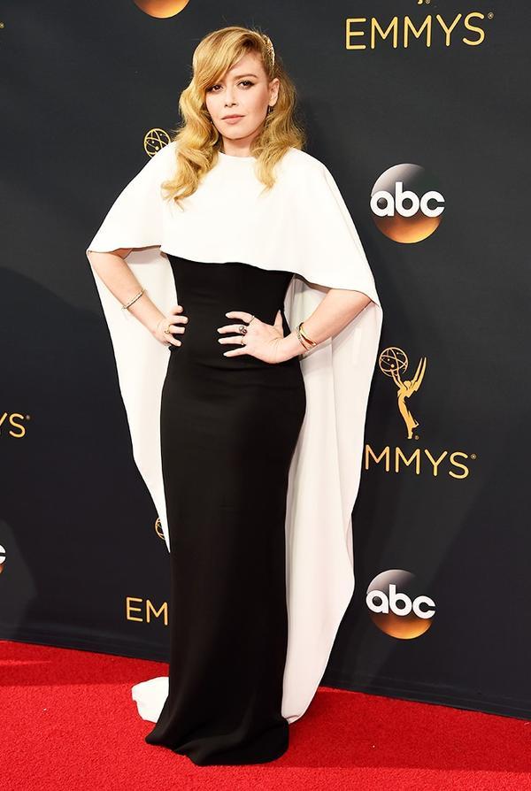 WHO: Natasha Lyonne WHAT: Actress,Orange Is the New Black WEAR: Custom Sally LaPointe gown.