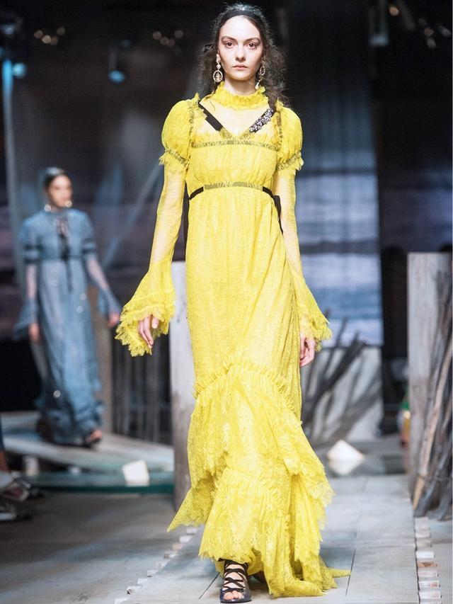Elaborate Dresses at Erdem: