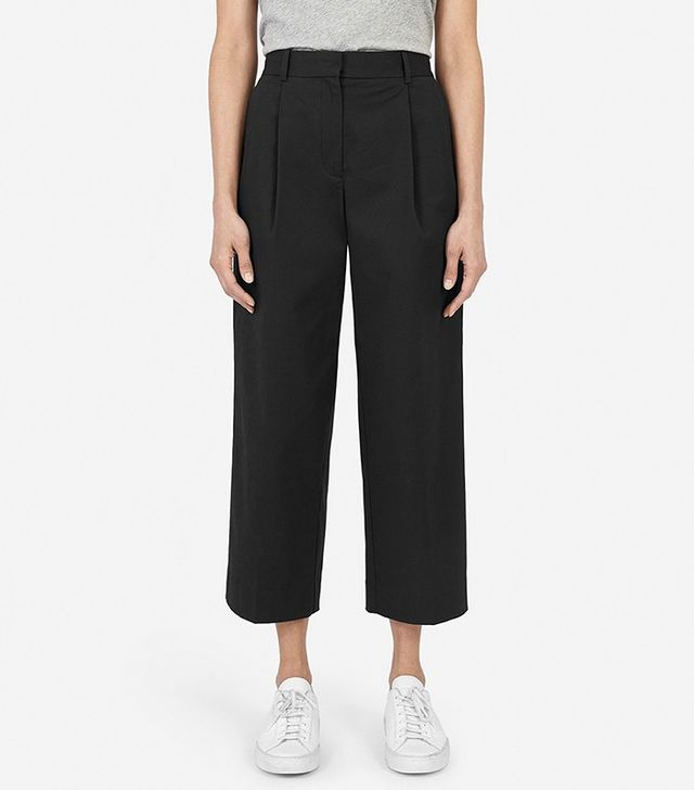 Everlane The Twill Crop Pant