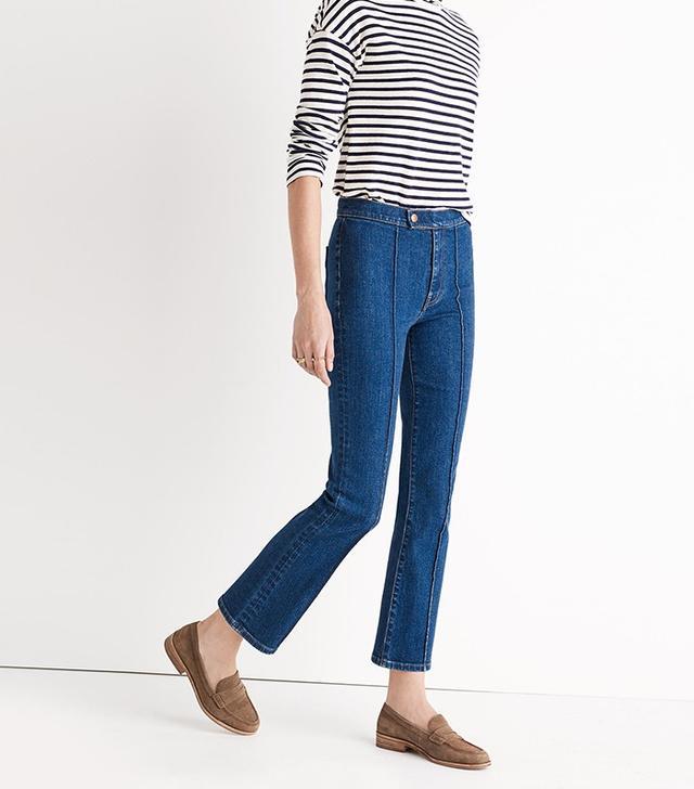 Madewell Rivet & Thread Pintuck Jeans