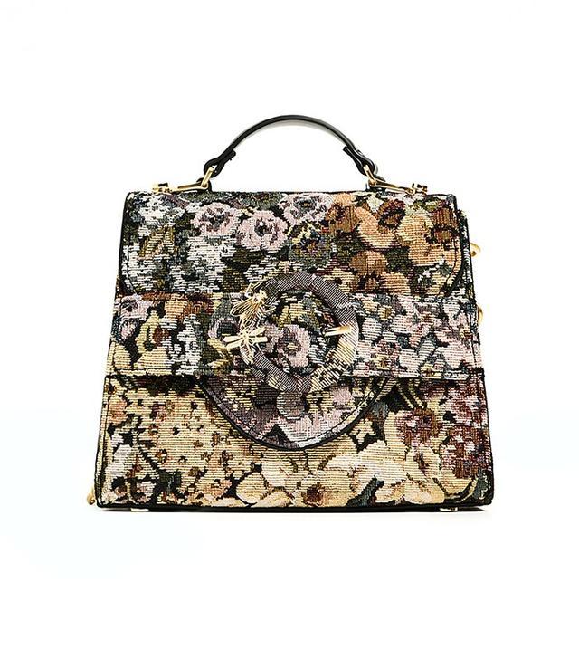 Zara Fabric Mini City Bag