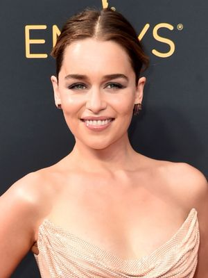 Emilia Clarke Wore the Classiest Version of the Naked Dress