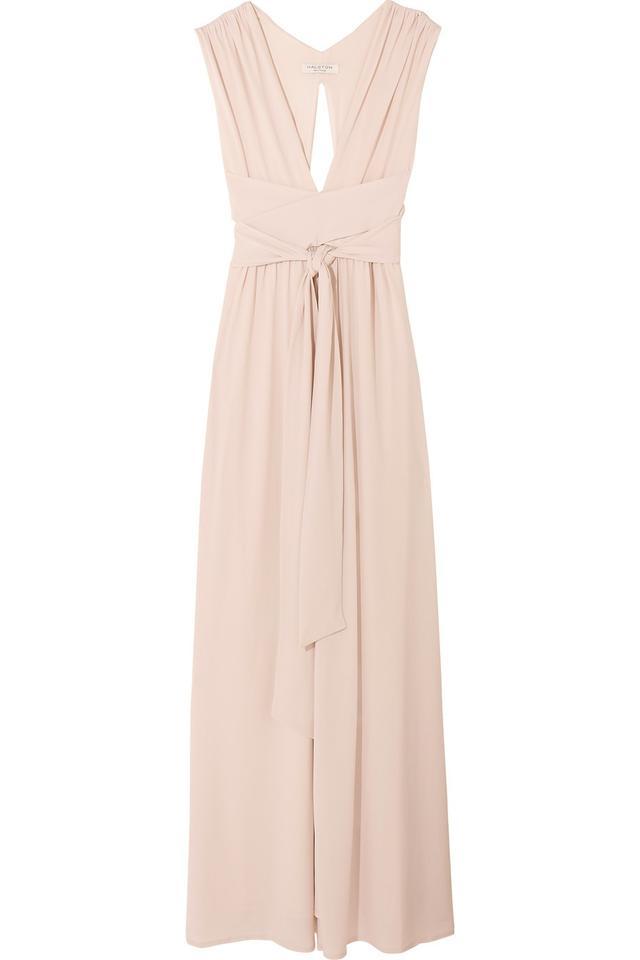 Halston Heritage Stretch-Jersey Gown