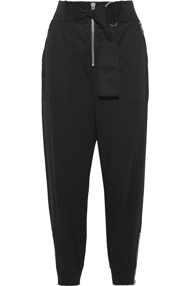3.1 Phillip Lim Cotton-Twill Tapered Trousers