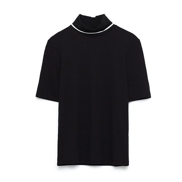 Zara Polo Neck T-Shirt
