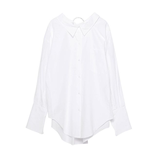 Zara Shirt With Metal Detail