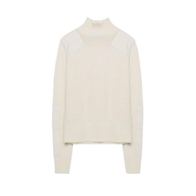 Zara Patch Sweater