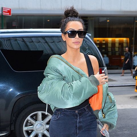 8 Celebrity Outfits That Prove Bombers Are Here to Stay