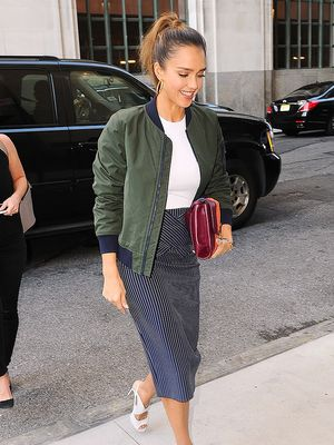 bomber jacket - Fashion Trends and Celebrity Style | WhoWhatWear