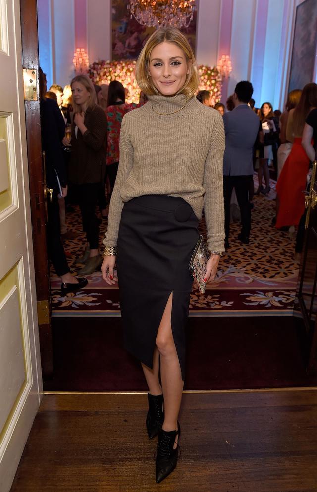 Olivia Palermo London Fashion Week Maison Marakem