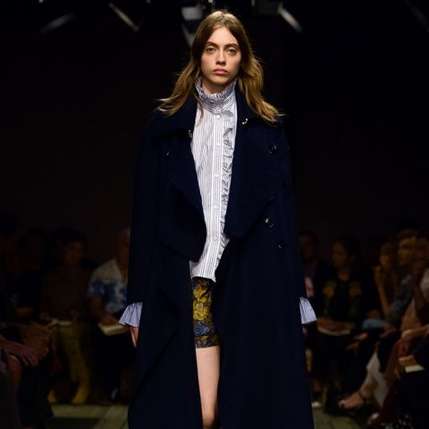 Burberry's New Collection Is So Alexa Chung