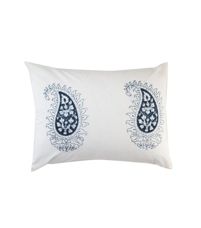 Marie Standard Pillow in Indigo