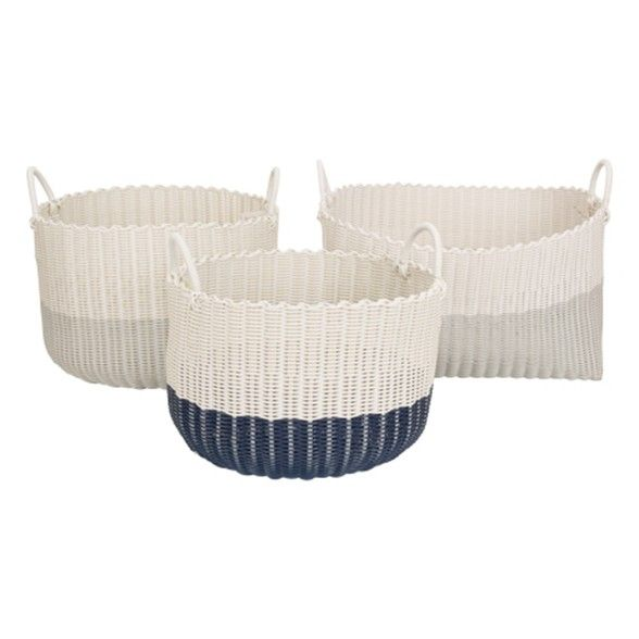Freedom Andee Basket Large in Round Grey