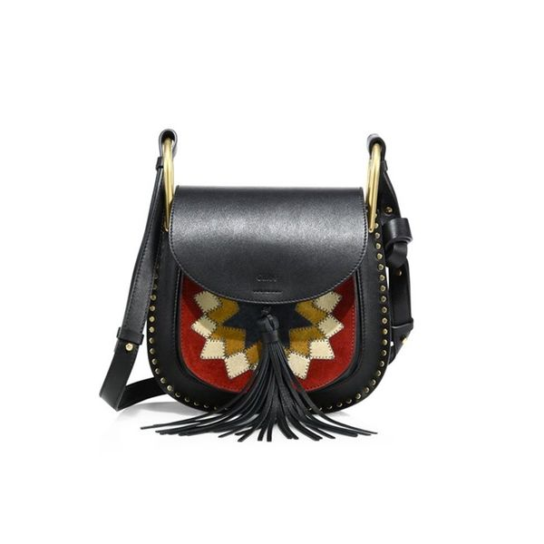 Chloé Hudson Small Patchwork Saddle Bag