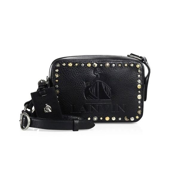 Lanvin Mini Nomad Studded Leather Bag