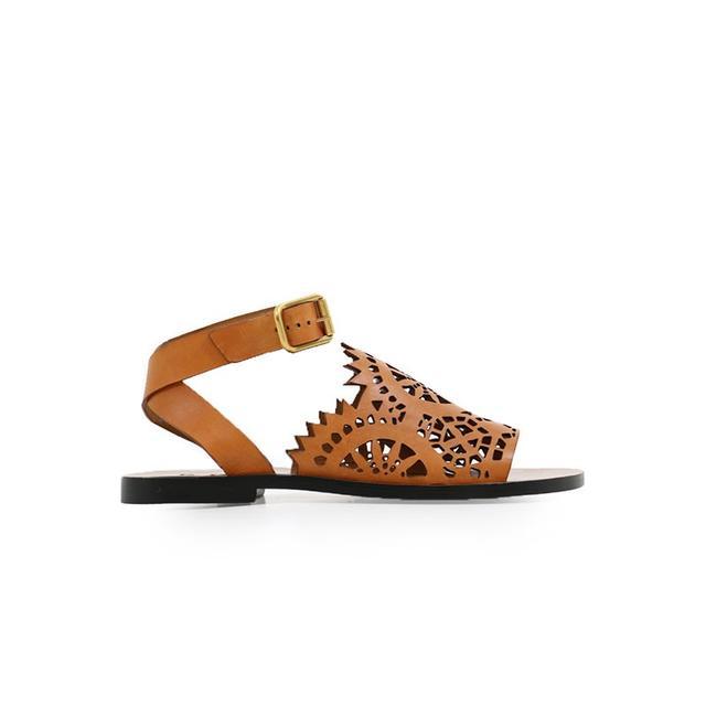 Chloé Kelby Sandal Cognac