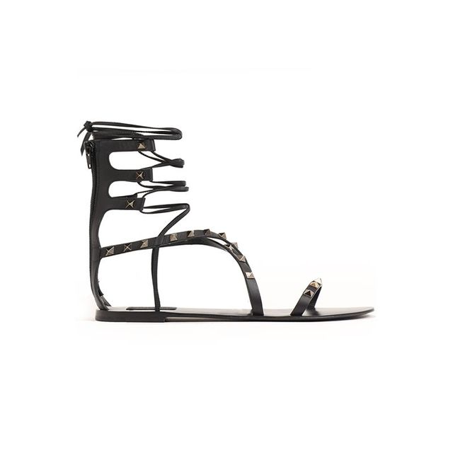 Valentino Rockstar Gladiator Sandals