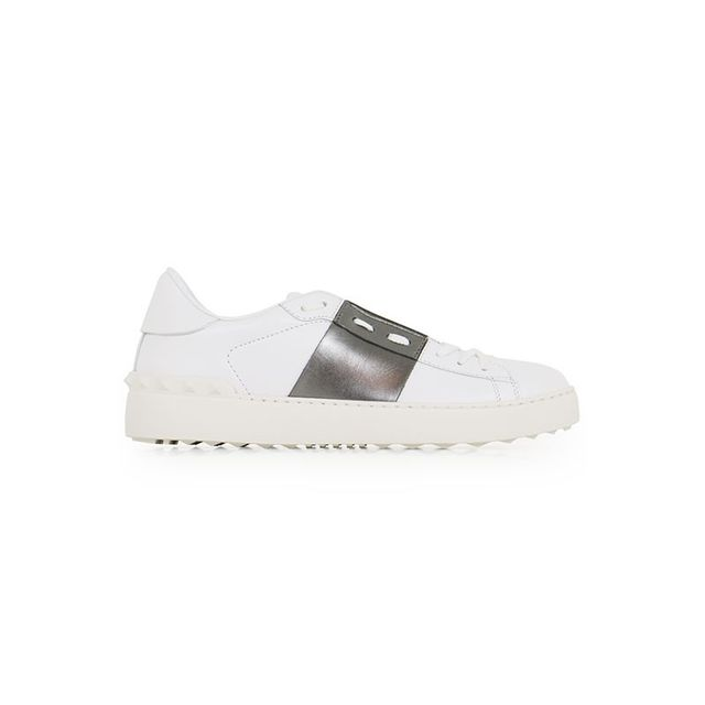 Valentino Open Sneaker Smooth Leather