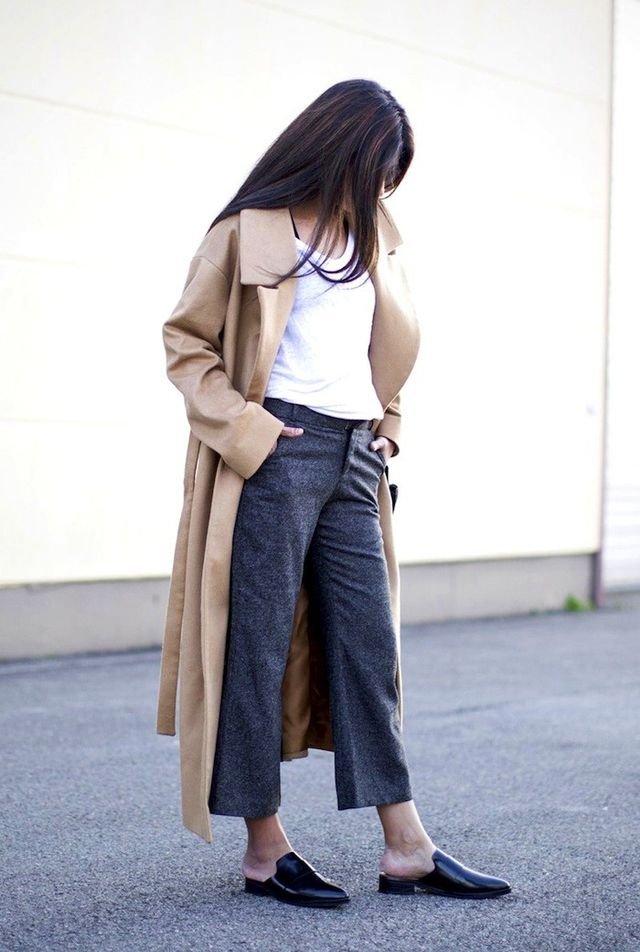 A Blogger-Approved Way to Wear a Camel Coat for Fall