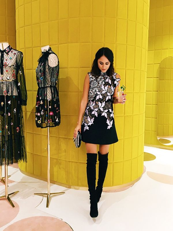 """On Saturday night, I attended the opening of the new Red Valentino store on Sloane street. Not only is the store simply magnificent, but the current autumn/winter collection is absolutely..."