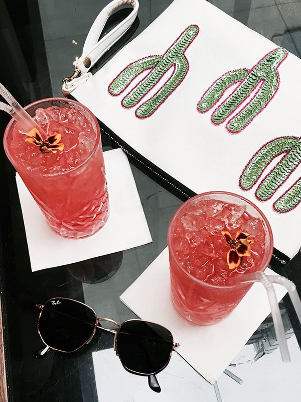 """It's never too early for a watermelon cocktail at The Hari hotel."""