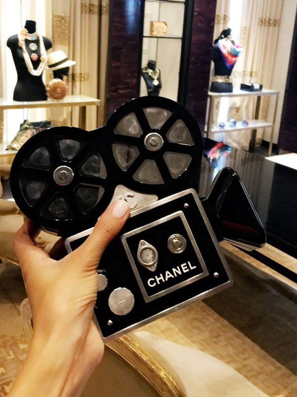 """I made a quick stop at the Chanel HQ in London and got my hands on some great pieces to wear during London and Paris Fashion week. It's a place I wish I could call home (in my wildest dreams)."""