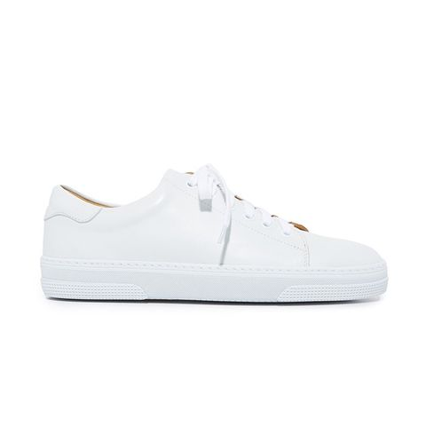 Tennis Steffie Low-Top Leather Trainer