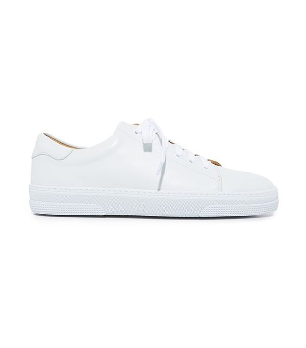 A.P.C. Tennis Steffie Low-Top Leather Trainer