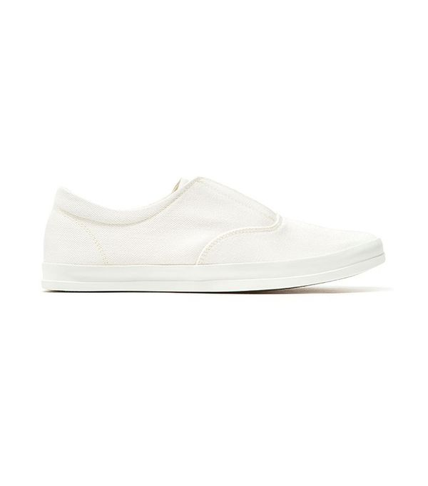 Lemaire Slip-On Sneaker with White Sole