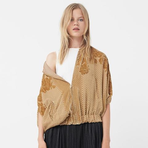Textured Silk Jacket
