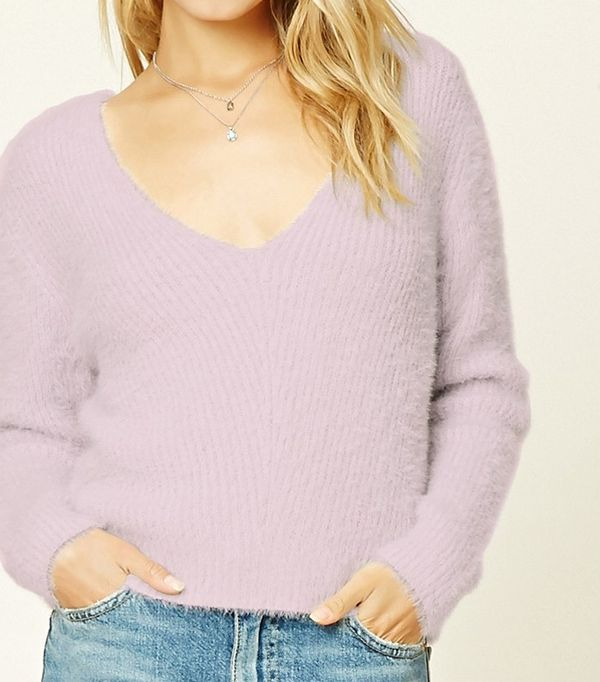 Forever 21 Brushed Knit Sweater