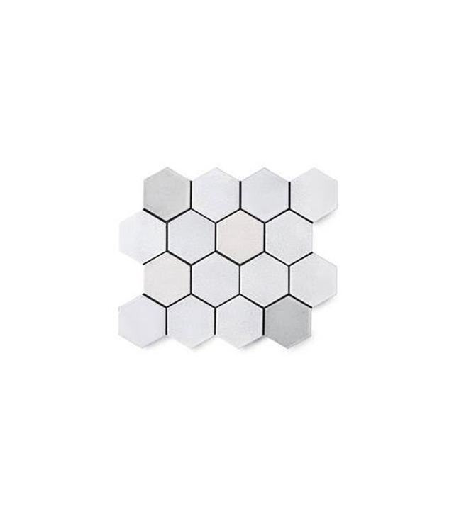 """Waterworks Magma 3"""" Hexagon Mosaic"""