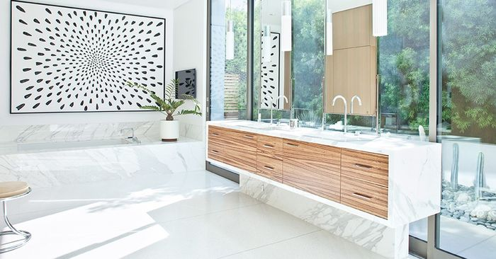 white bathroom ideas.  An Expert Shares Her Top White Bathroom Ideas MyDomaine