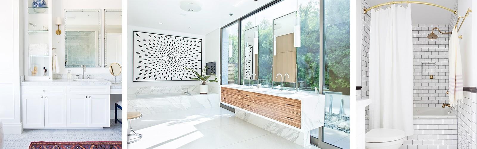 An Expert Shares Her Top White Bathroom Ideas | MyDomaine