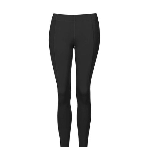 V Mid-Rise Ankle Leggings