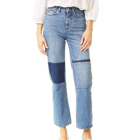 Amelie Patchwork Jeans