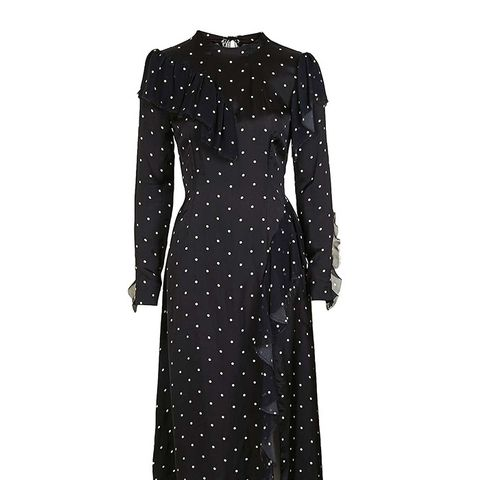 Boutique Polka Deconstructed Dress