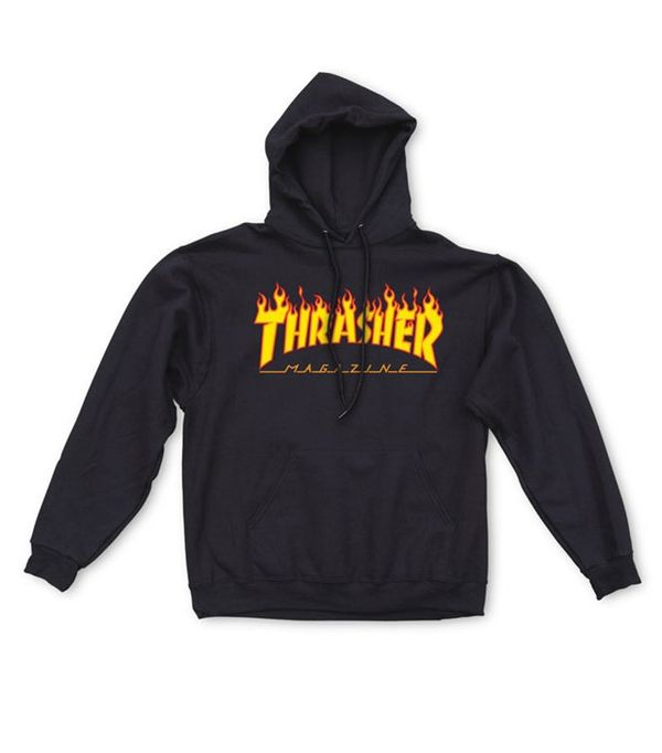 Thrasher Flame Logo Hood