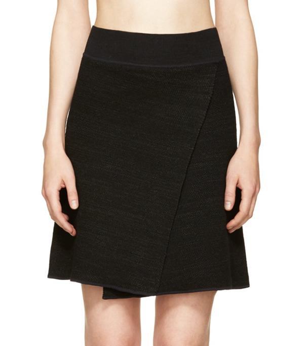 Isabel Marant Black Knit Cashlin Skirt